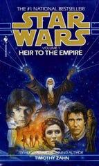 """Timothy Zahn's first """"Star Wars"""" novel."""