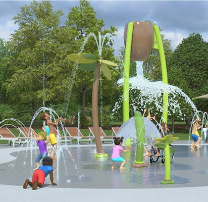 Sussex Village Park is getting a splash pad as part of a $2.6 million upgrade