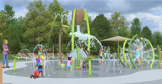 The overhaul of Sussex Village Park will be done in four phases. It will include a playground, splash pad, pavilion, pickleball and basketball courts.