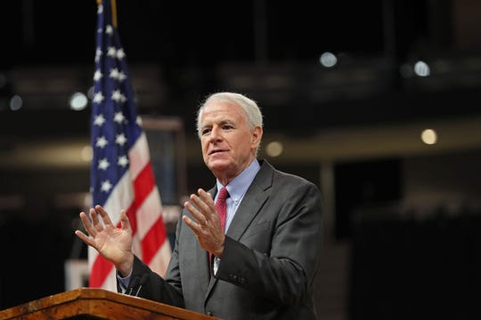 "Milwaukee Mayor Tom Barrett said Milwaukee is ""fighting back"" at his state of the city address"