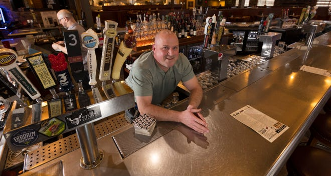 Tony Lewanovich owns Champps Americana, 1240 S. Moorland Road in Brookfield. It's not like the other Champps.