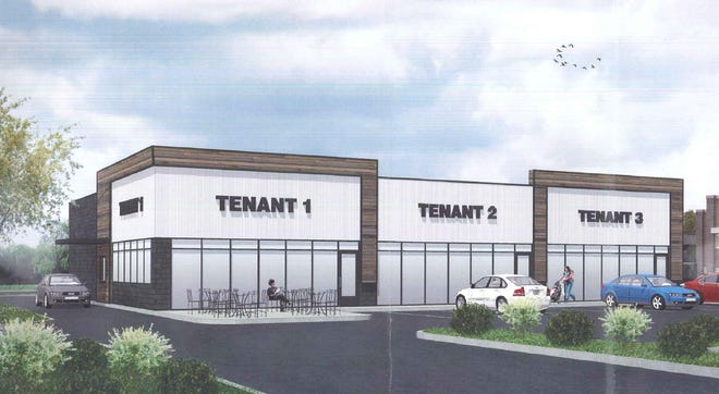 A national coffee chain would be one of the tenants in a proposed building south of the future Aldi grocery store at 6701 and 6789 N. Port Washington Road. The site was previously an athletic field for Nicolet High School.