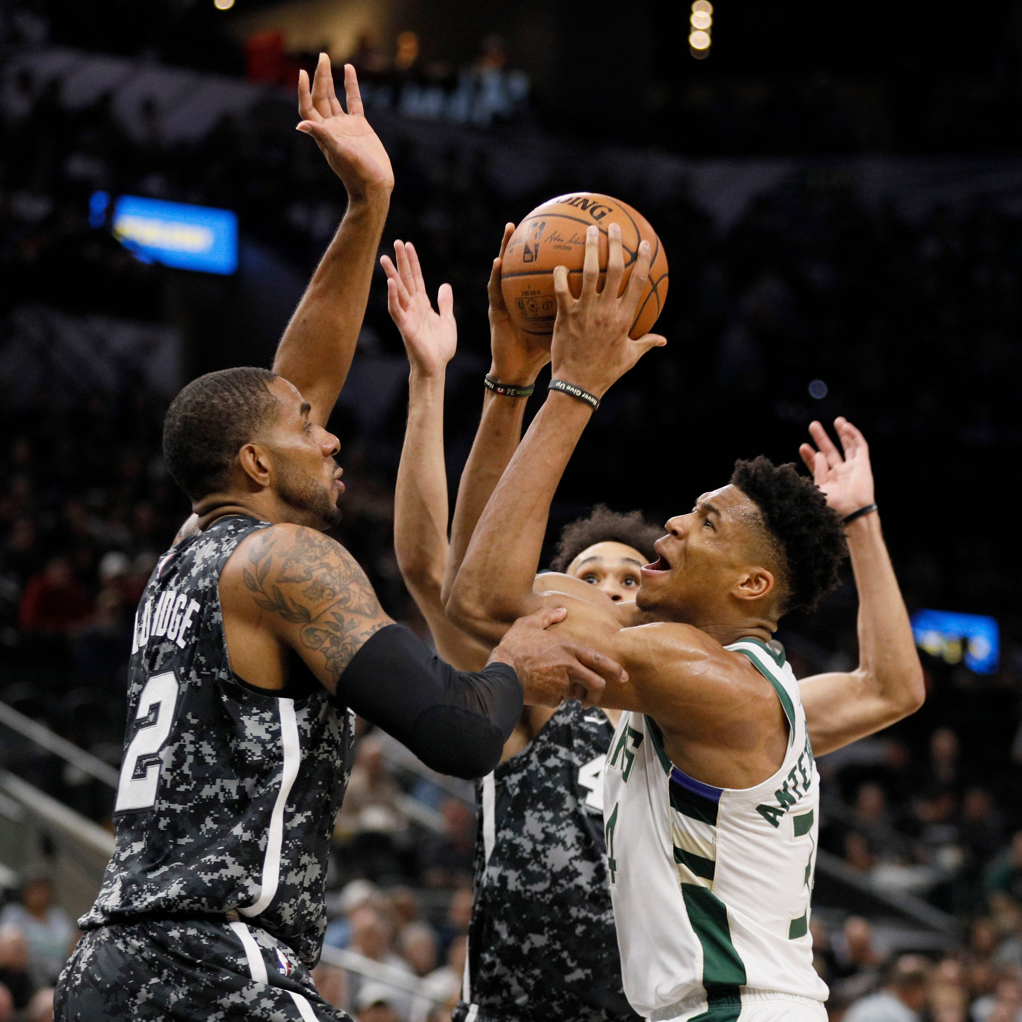 Spurs 121, Bucks 114: Too low on gas