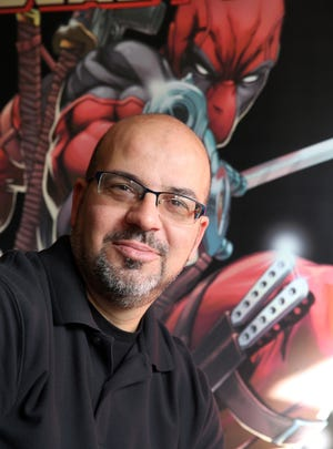Fabian Nicieza, comic book writer and co-creator of the Marvel character Deadpool, will appear Saturday at the River Region Comic Con in Montgomery.