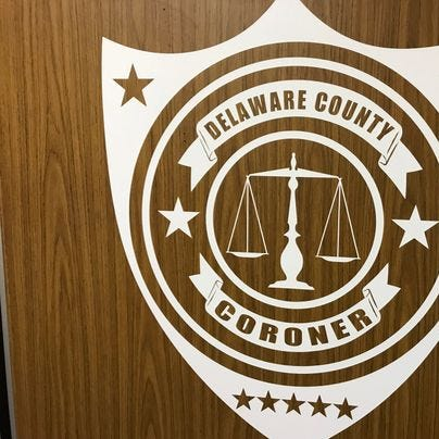 Coroner seeks public's help in finding deceased Delaware County man's family