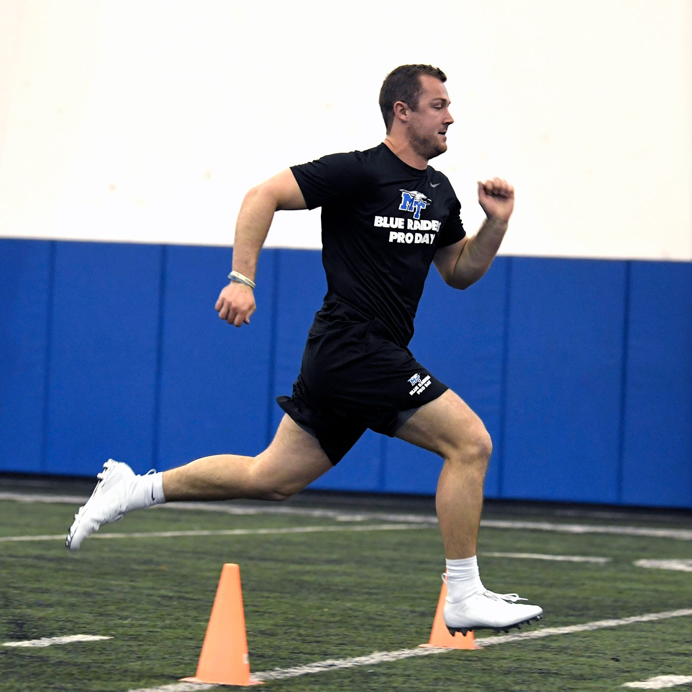 MTSU quarterback Brent Stockstill pulls hamstring at Pro Day