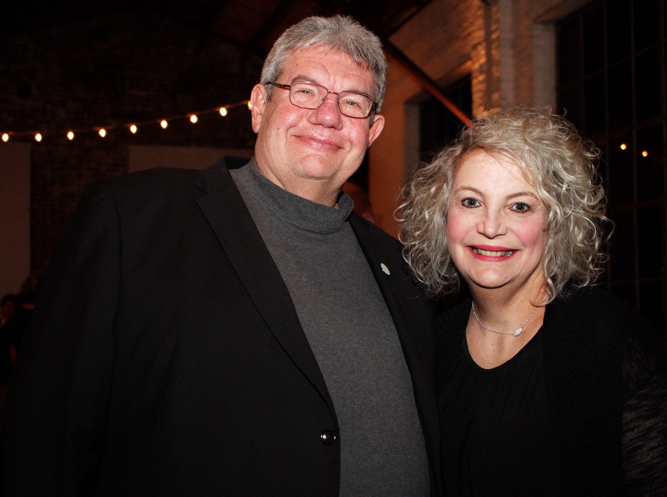 Jimmy and Teresa Overton at the Green and Gold Gala benefitting Gallatin High School on Saturday, March 9, 2019.