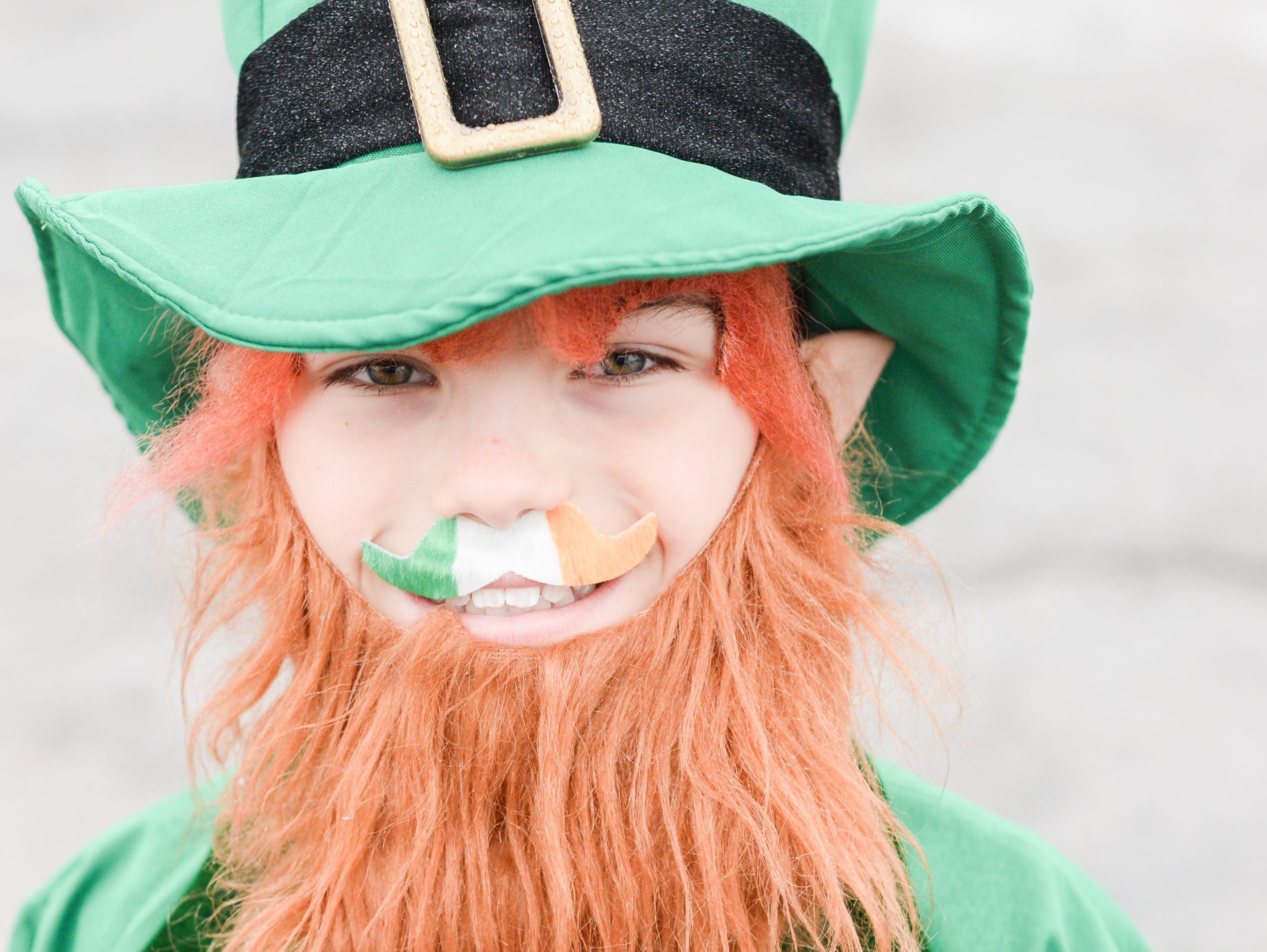 Liam Lassiter goes all out for the Gallatin Shamrock Run on Saturday, March 9. Proceeds from the event are used to fund grants through the Gallatin Chamber Foundation for innovative educational programs for students K-12 in the city of Gallatin.