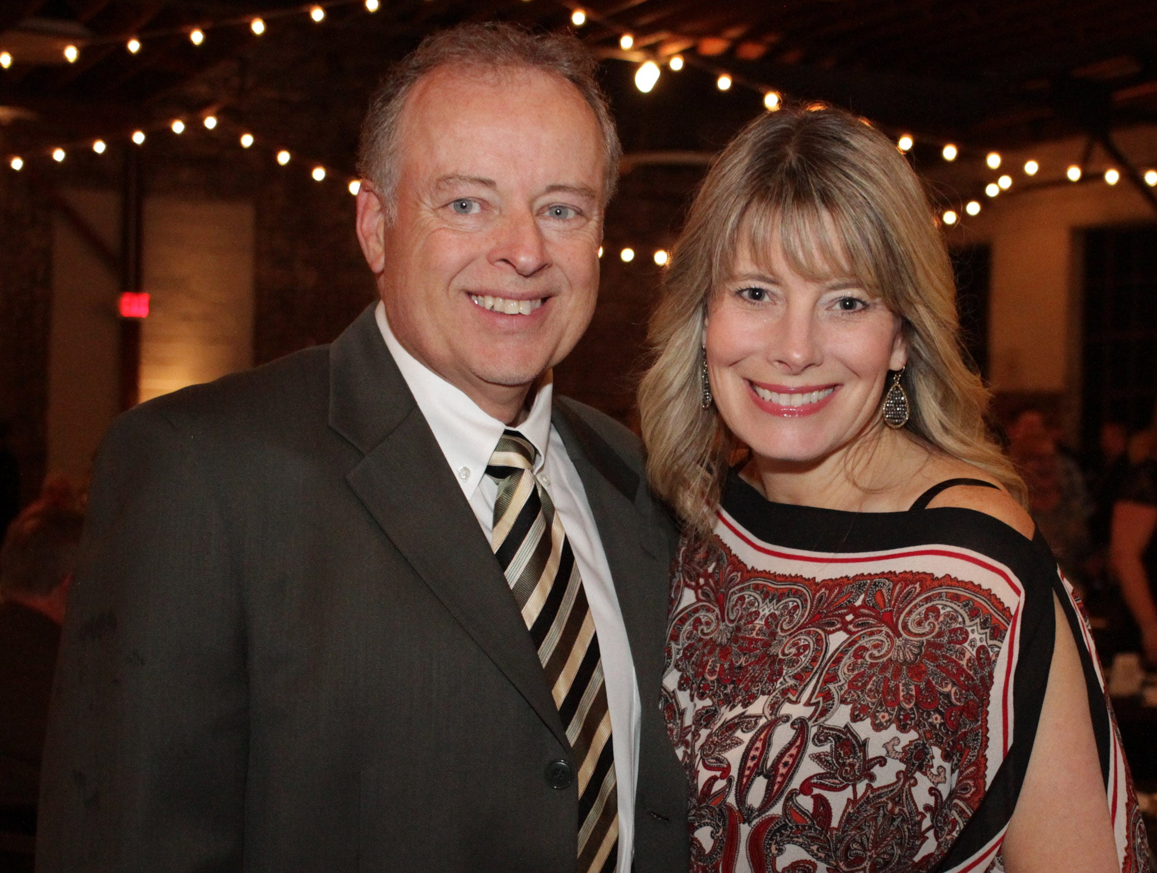 Al and Deanne Dewitt and the Green and Gold Gala benefitting Gallatin High School on Saturday, March 9. 2019.