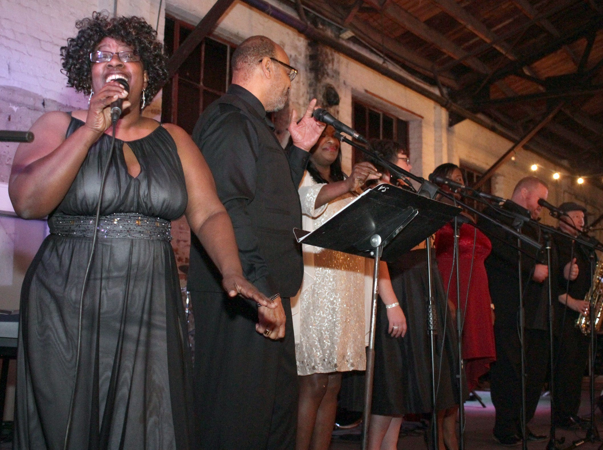James Story and Friends provide the enetertainment at the Green and Gold Gala on Saturday, March 9, 2019.