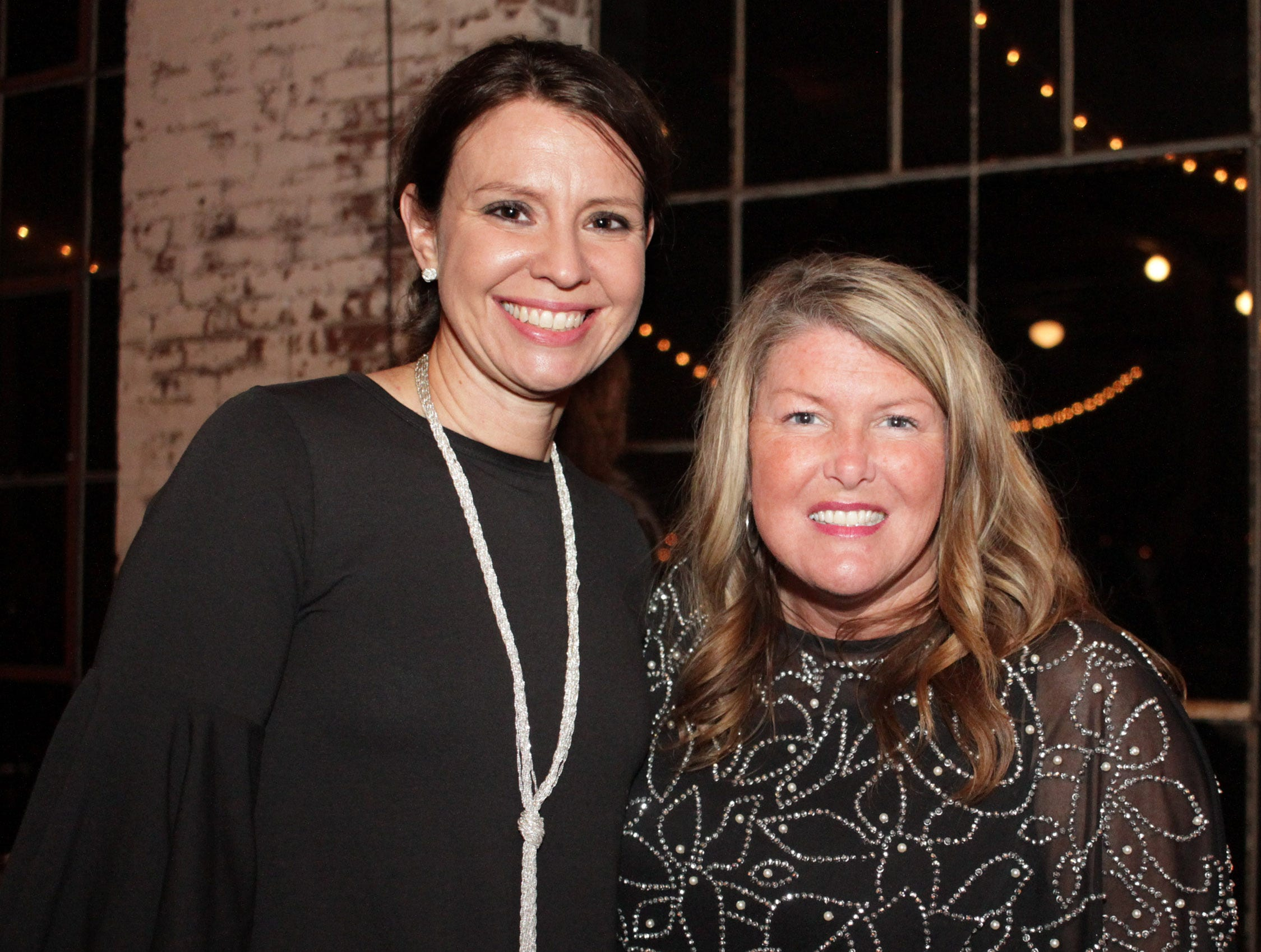 Tiffany Bandy and Misty Donoho at the Green and Gold Gala benefitting Galatin High School on Saturday, March 9, 2019.