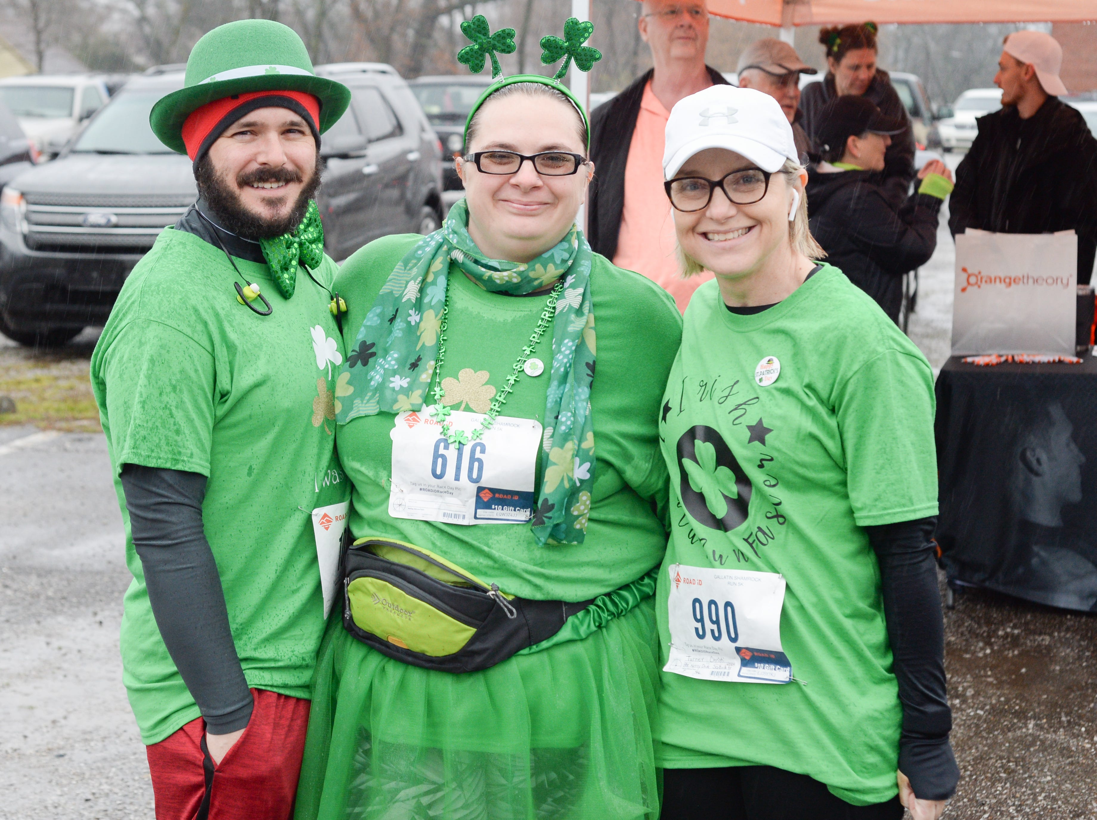 Green was the most popular color at the Gallatin Shamrock Run on Saturday, March 9.
