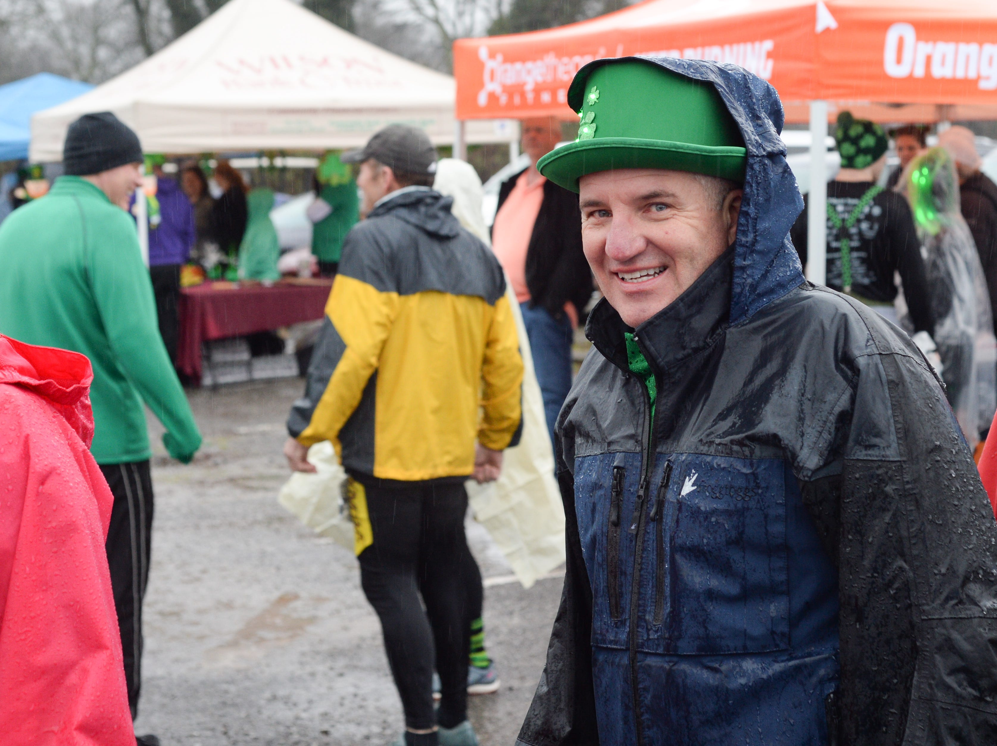 Participants braved the rain to participate in the Gallatin Shamrock Run on Saturday, March 9.