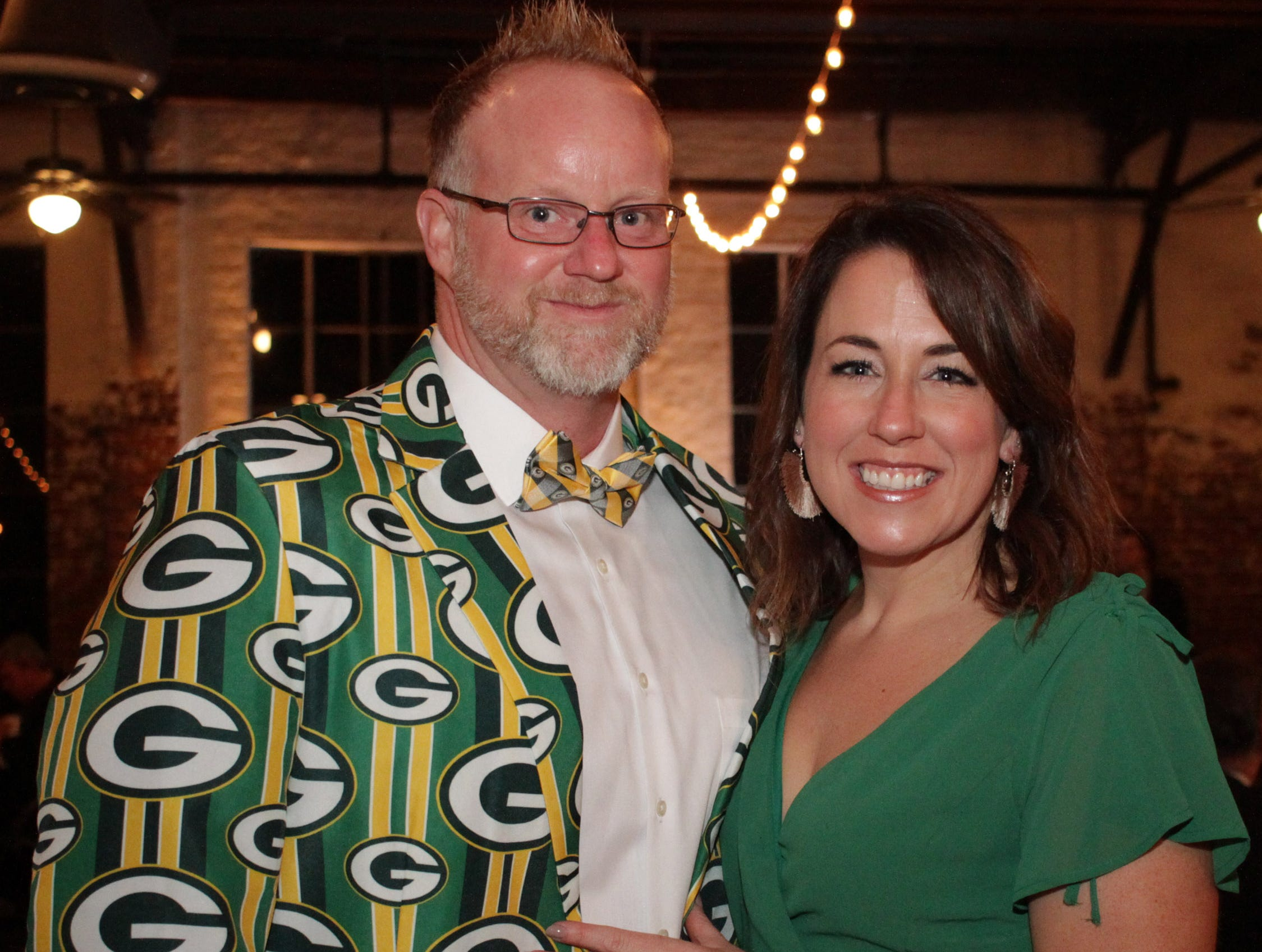 Bryan and Amy Koch at the Green and Gold Gala benefitting Gallatin High School on Saturday, March 9, 2019.