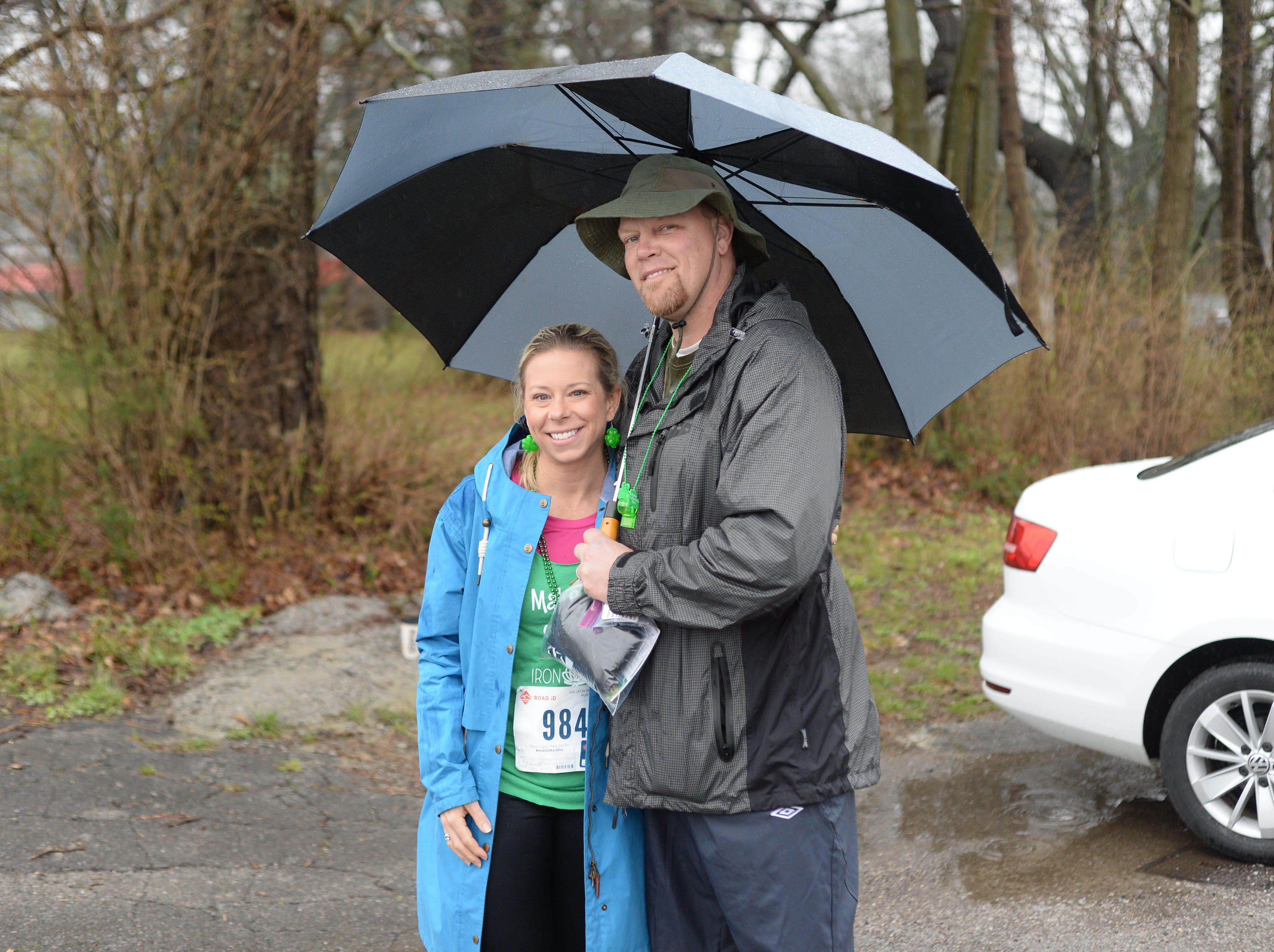 The Thurmans came out to support the Gallatin Shamrock Run on Saturday, March 9.