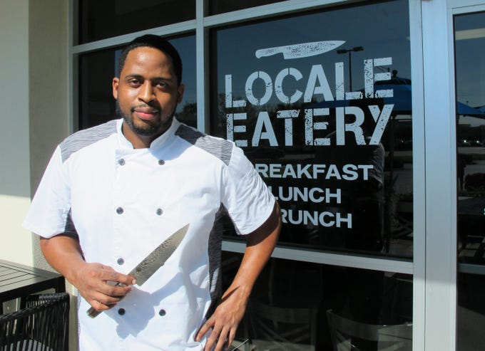 Terrence Burney is chef-owner of the new Locale Eatery near NCH North Naples Hospital campus where Goodlette-Frank Road ends at Immokalee Road.