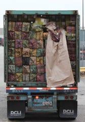 Truck full of cocaine seized at Port Newark