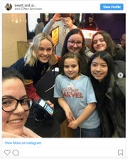 Brie Larson makes surprise visit to Clifton movie theater