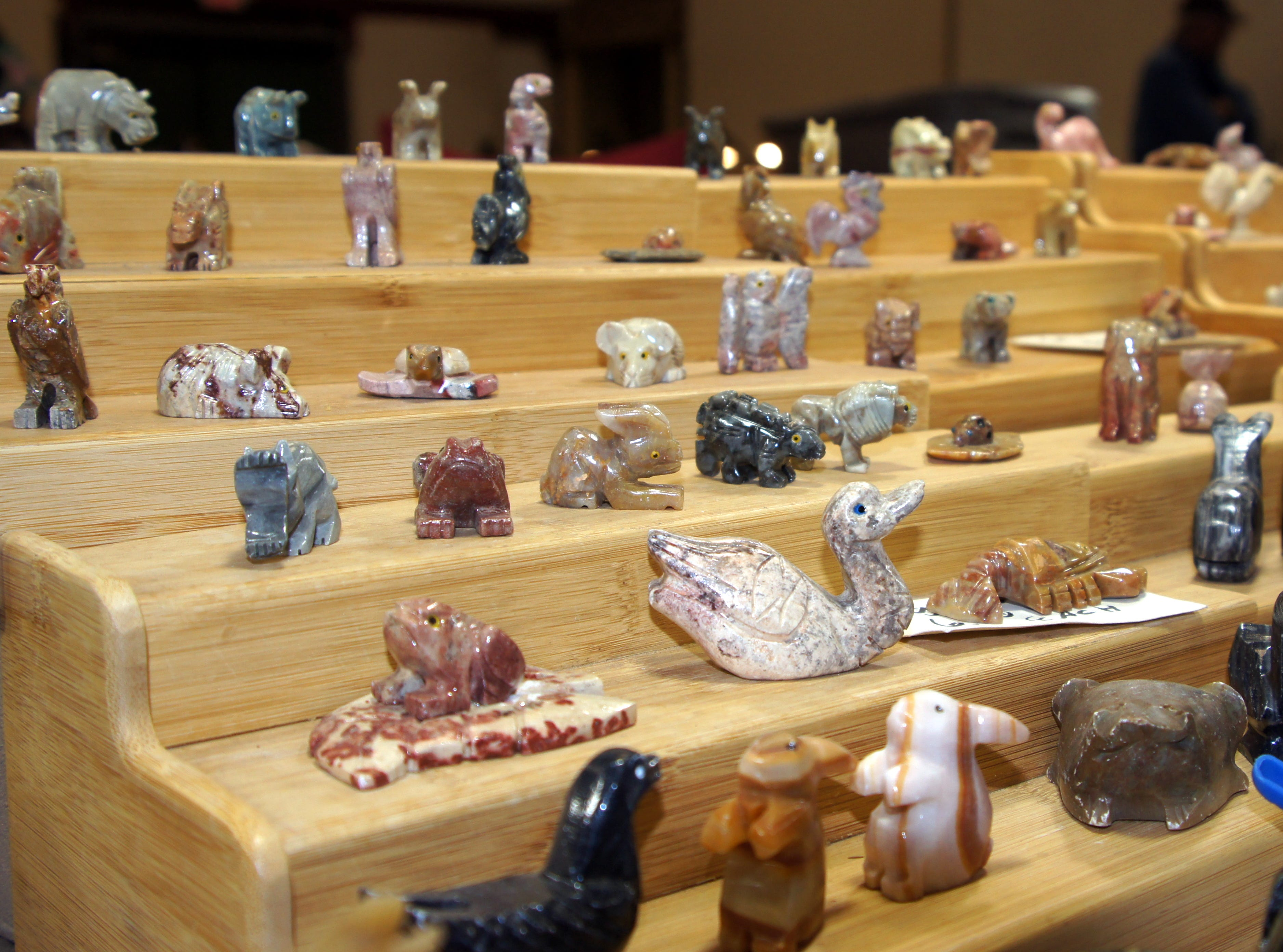 Rock art was a showcase of beauty at the 54th annual Rockhound Roundup.