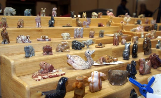 Rock art was a showcase of beauty at last year's 54th annual Rockhound Roundup hosted by the Deming Gem and Mineral Society.