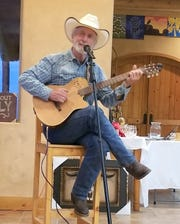 Cowboy poet and singer Ed Brown will perform a free concert at 6 p.m. on Thursday at the Luna Rossa Winery.