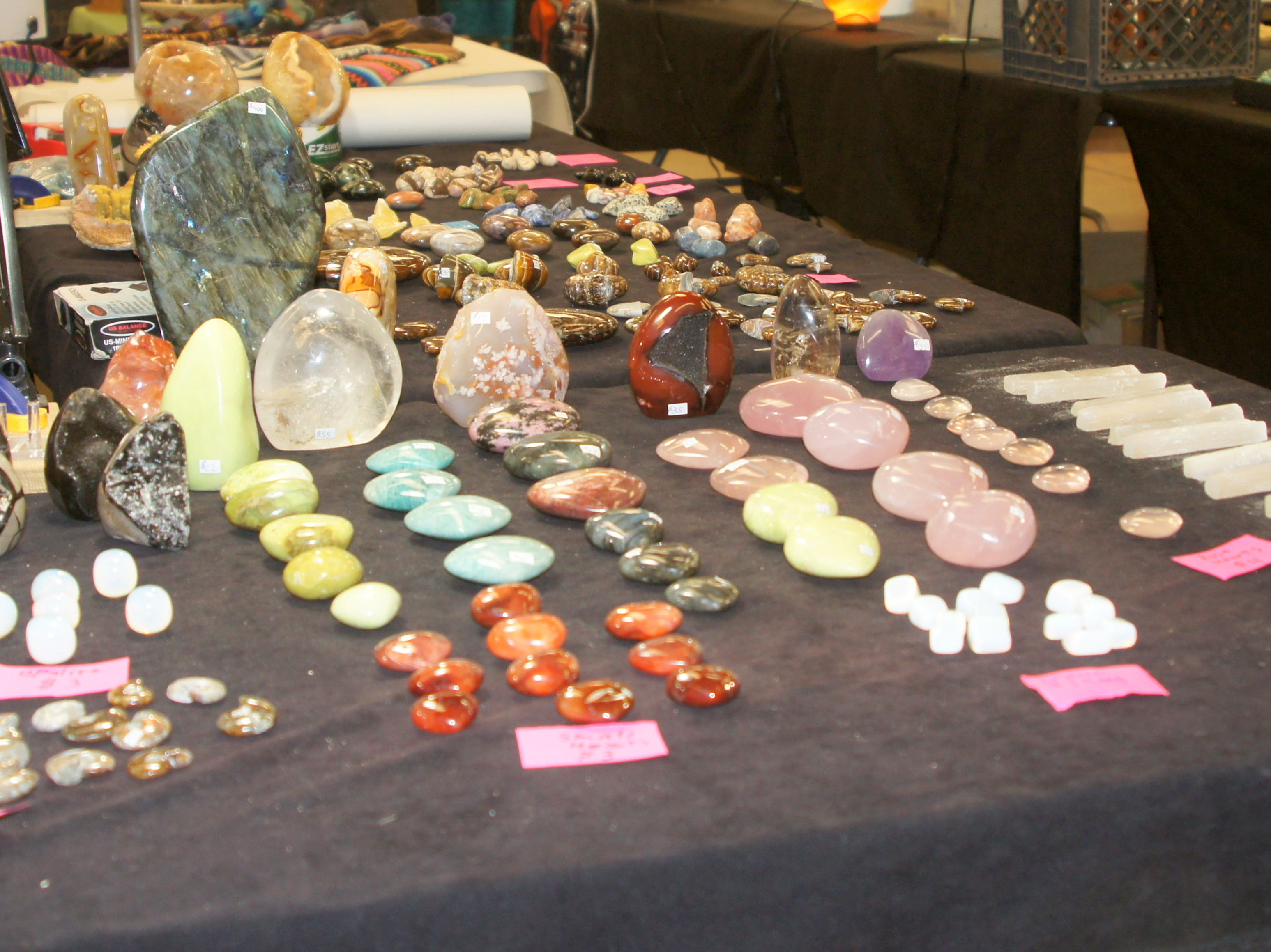 The 54th annual Rockhound Roundup drew 120 vendors from all over the country for the four-day event in Deming, NM.