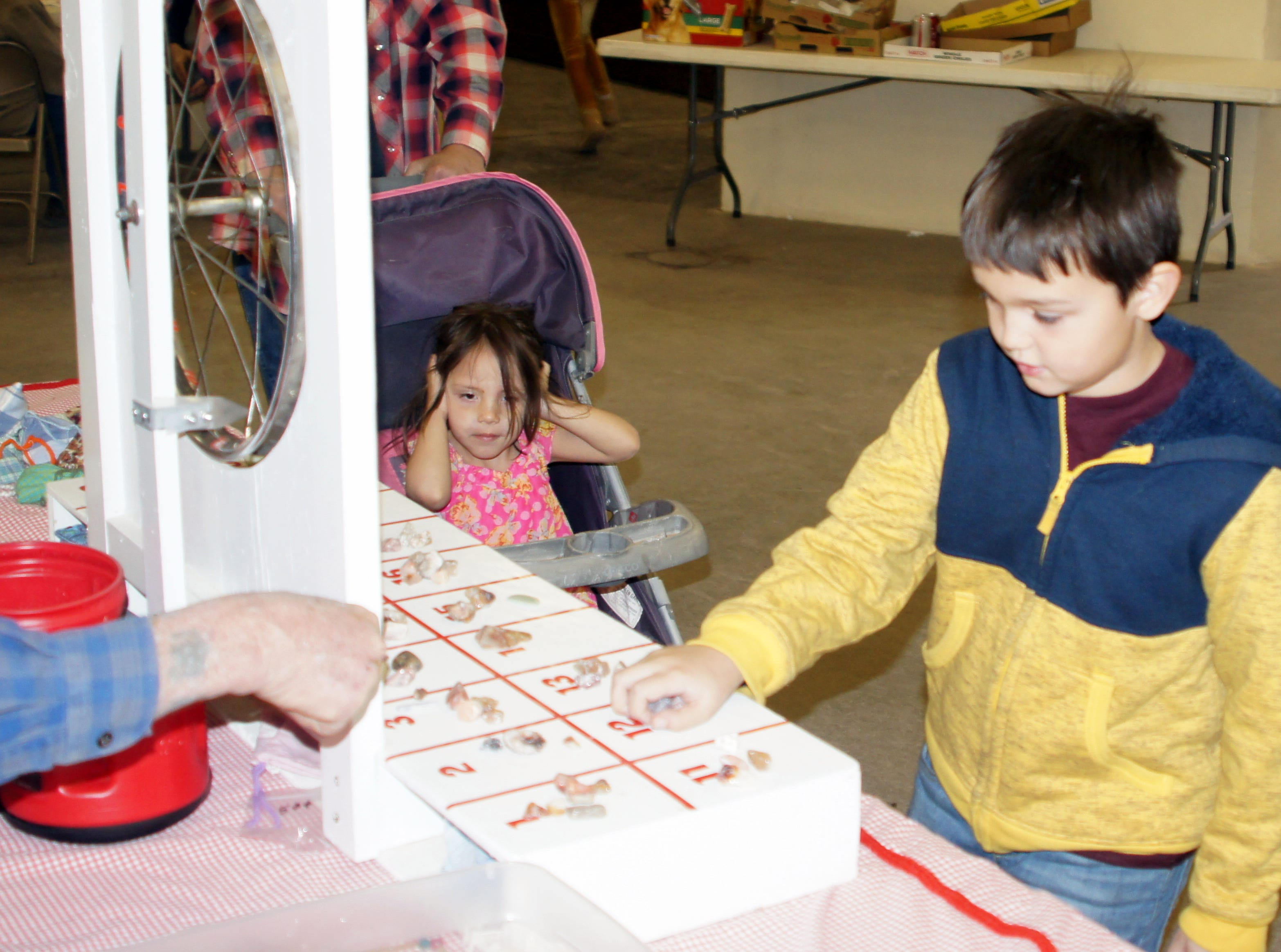 The Deming Gem & Mineral Society provided plenty of fun activities for children during the 54th annual Rockhound Roundup.