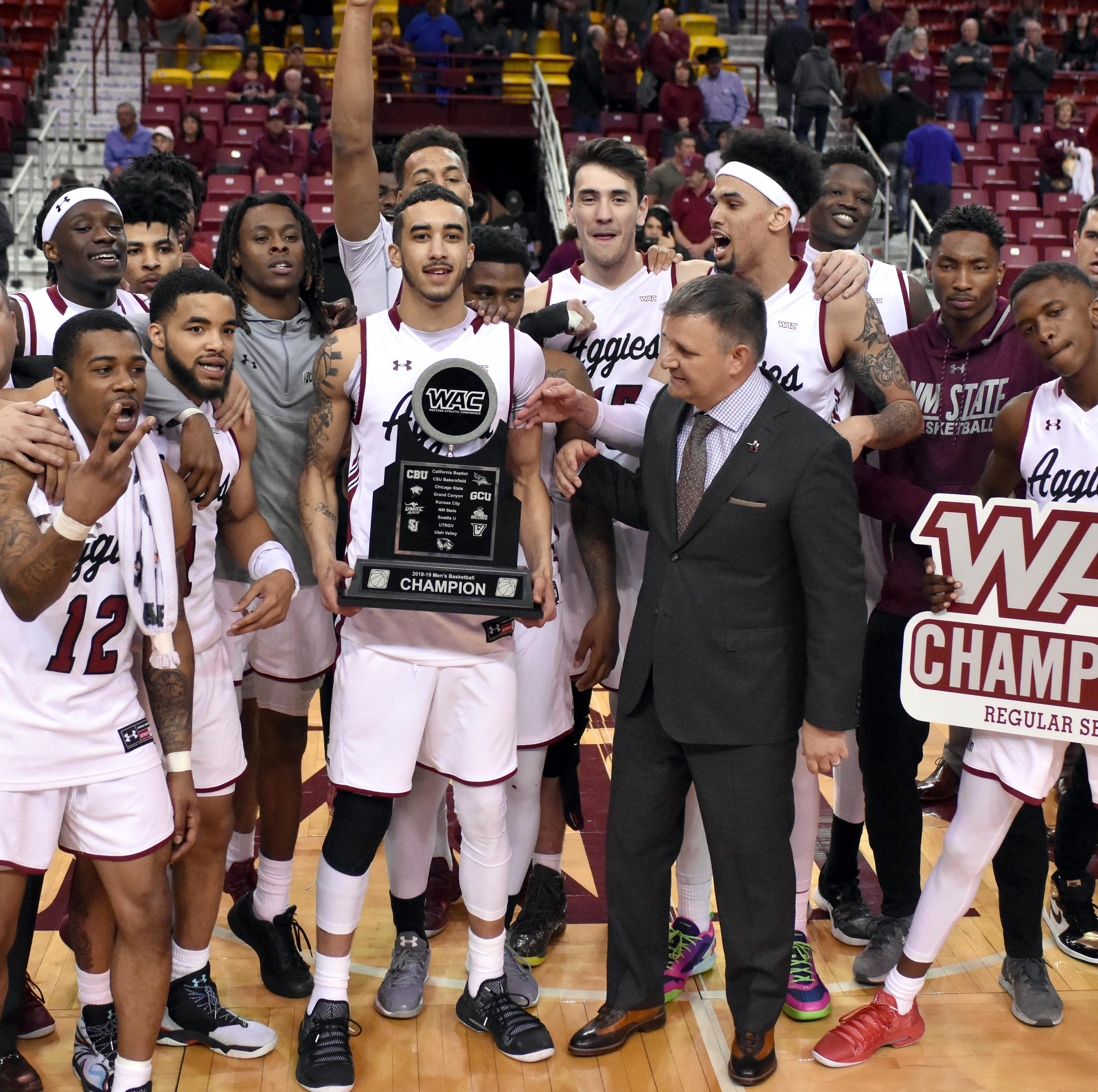 NMSU to host send-offs for men's and women's basketball teams