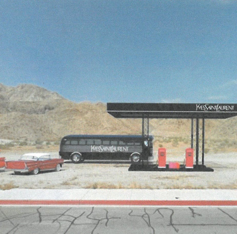 Need make-up during Coachella? Yves Saint Laurent gas station to pop up in Cathedral City