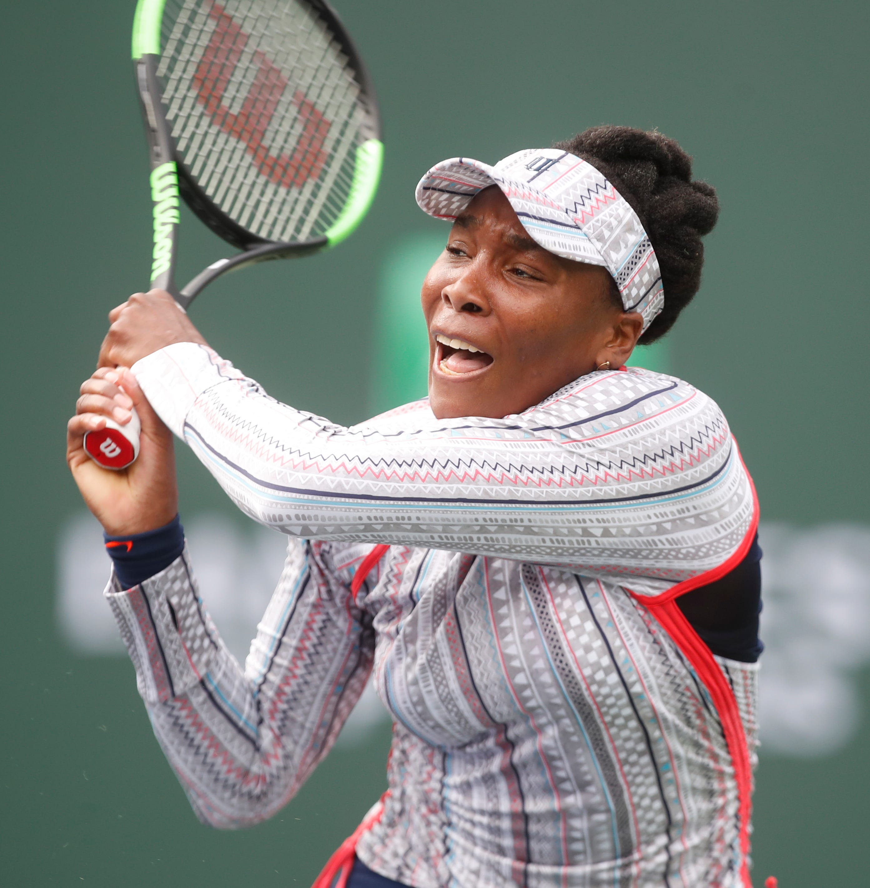 After tough matches, Venus Williams finds a respite in third-round BNP Paribas Open win