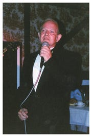 Irish tenor David Christopher will perform an evening of traditional Irish ballads and pop songs in a St. Patrick's Day show at Club Rouge in Palm Springs.