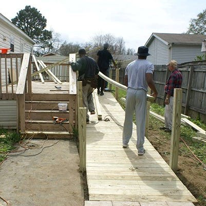 Escambia County supports wheelchair ramp pilot program | Causes