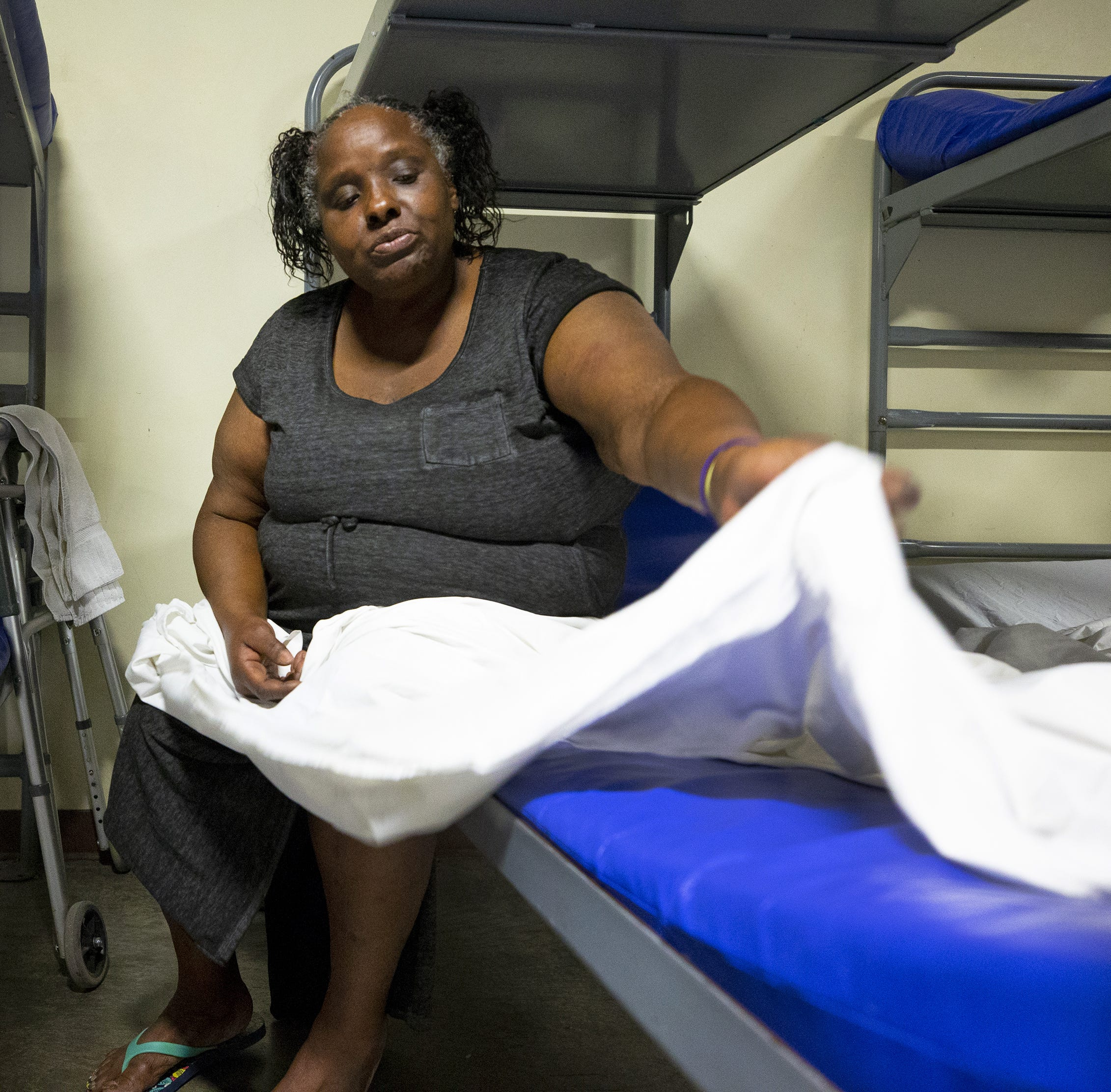 'They should have never put me out there.' Hospital left homeless woman on the street