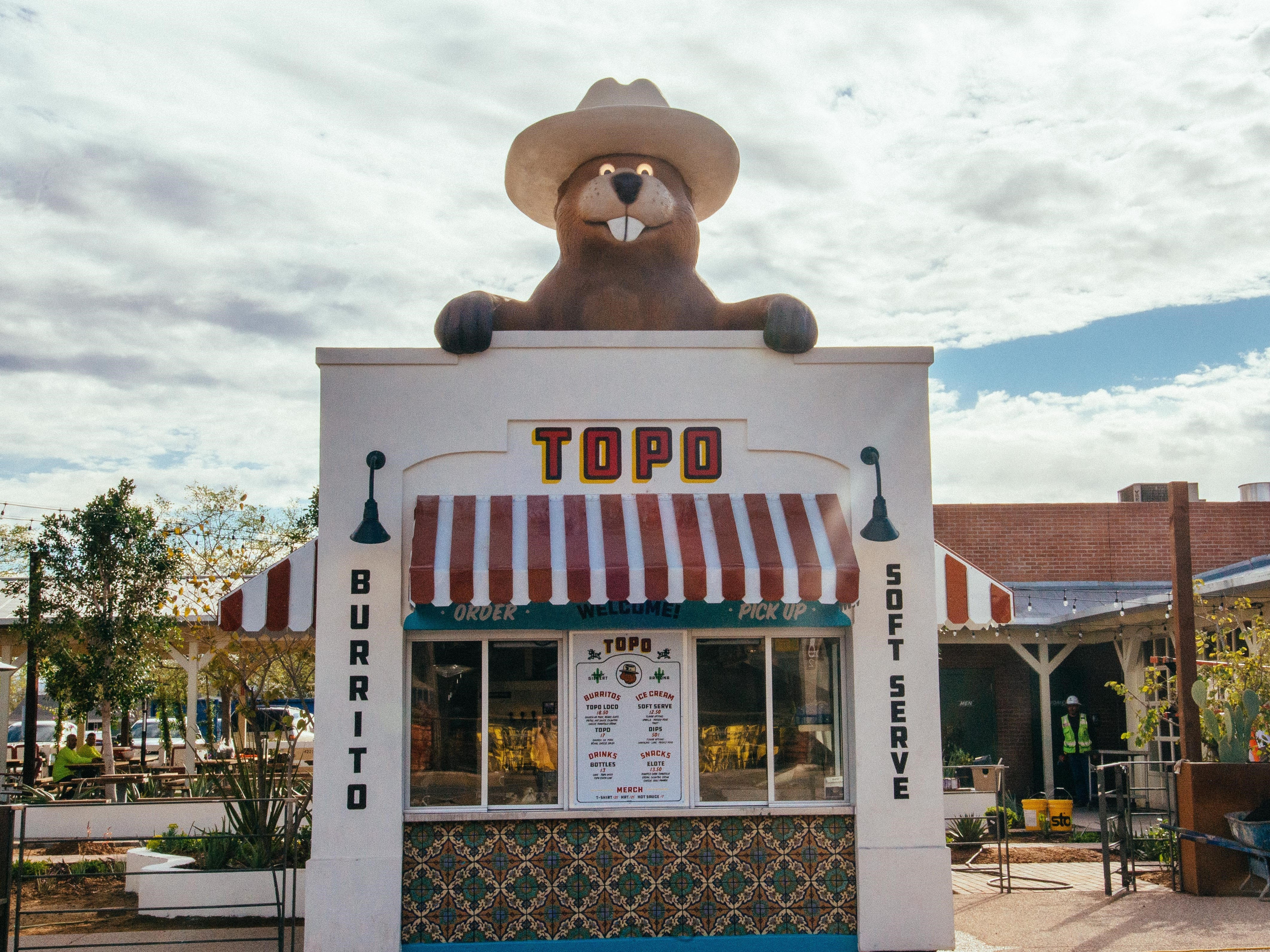 Topo, a food stand serving burritos and soft serve, is the newest food and beverage concept from restaurateur Joe Johnston.
