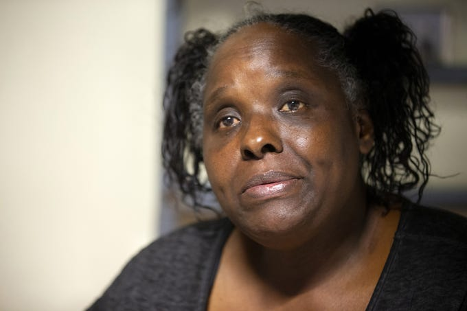 Romona Stevenson, 55, got pneumonia and went to the county hospital, Maricopa Medical Center, unable to breathe. After a week taking antibiotics, breathing treatments and hooked up to an oxygen tank, the hospital discharged her and paid for a cab to take her to the downtown Phoenix homeless shelter. There was no bed available, so she sat two nights at a bus stop outside McDonald's.  Stevenson was able to get a bed at CASS with the help of Justa Center, a homeless center for seniors in Phoenix.