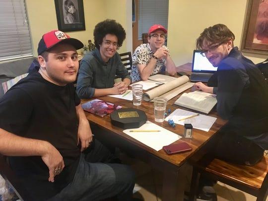 Blake Starr, Ethan Cruz, Landon Hooser and Sawyer Bland met in grade school. Ten years later, they're still friends.