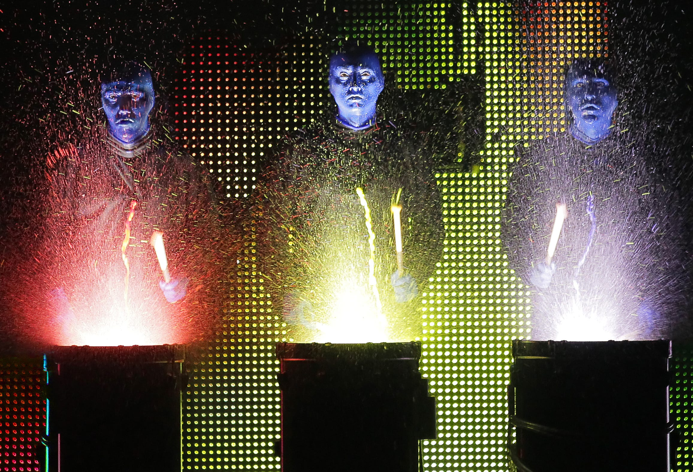 Blue Man Group performs Nov. 15-17, 2019, as part of ASU Gammage's Broadway Across America season.