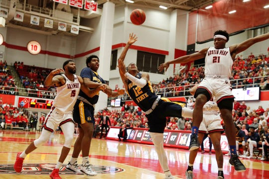 Murray State Racers guard Ja Morant (12) could be the Phoenix Suns' first draft pick in the 2019 NBA draft.
