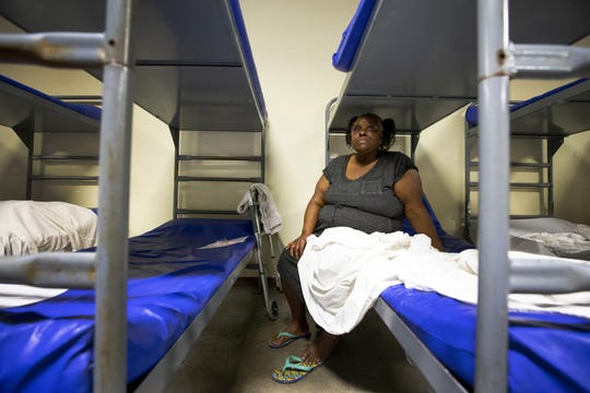 Stevenson was able to get a bed at CASS with the help of Justa Center, a homeless center for seniors in Phoenix.