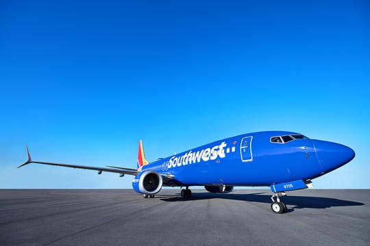 Southwest 737 MAX 8 aircraft