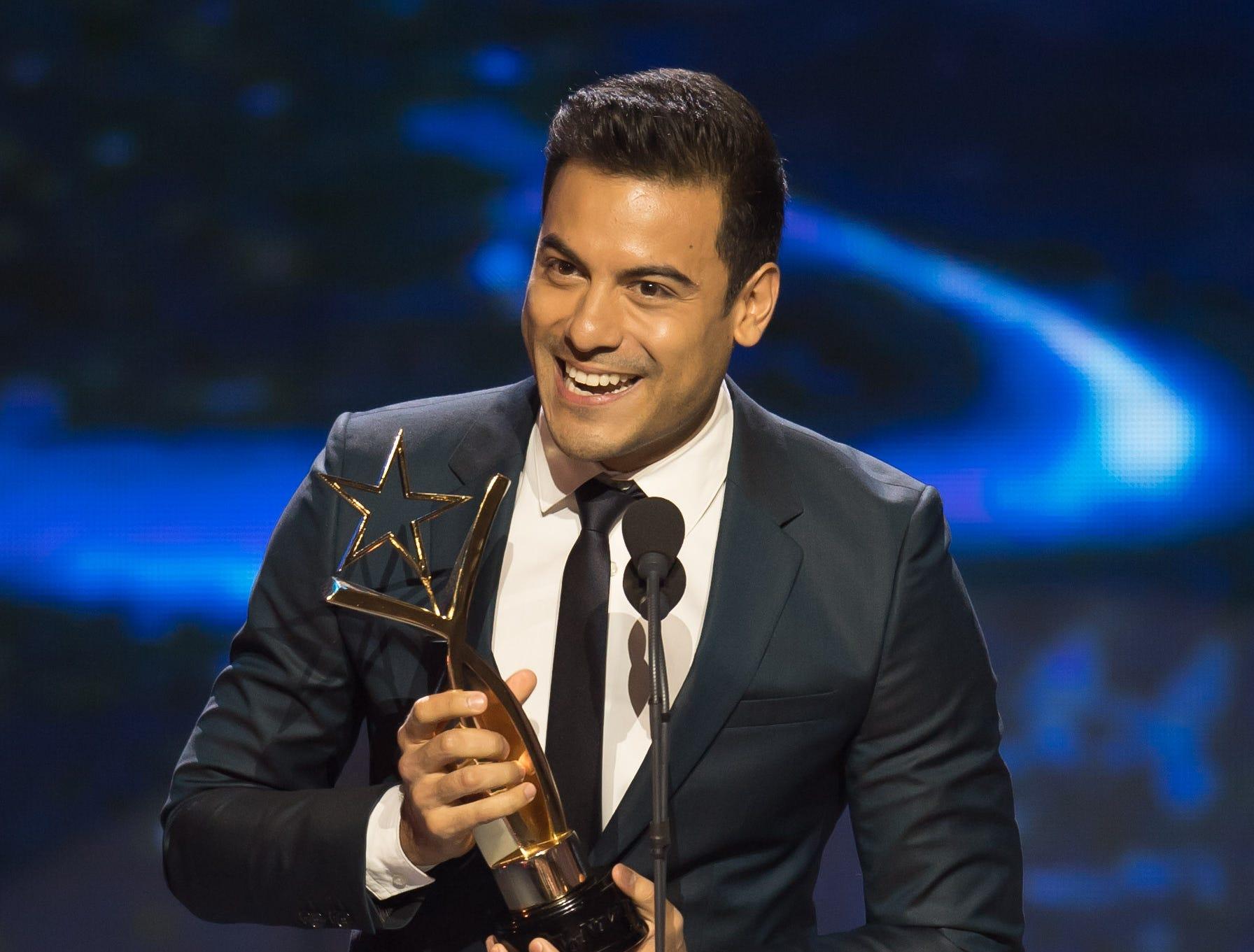 "Mejor Tema Musical de Telenovela: Me muero. Carlos Rivera (""Amar a Muerte"")."