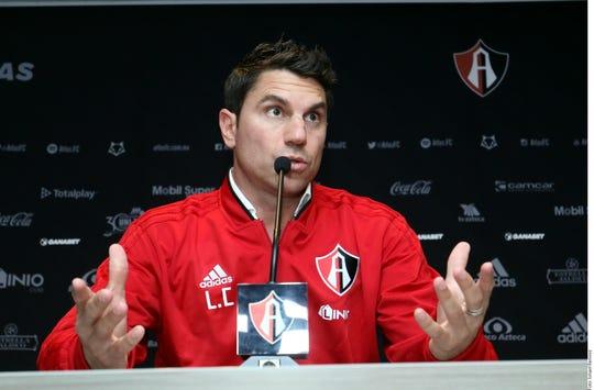Leandro Cufré fue presentado como nuevo DT del Atlas.