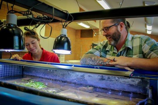 Noche de ciencia y conservación en el zoológico de Phoenix.