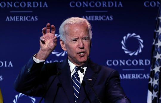 El ex vicepresidente Joe Biden, uno de los presidenciables por el partido demócrata.