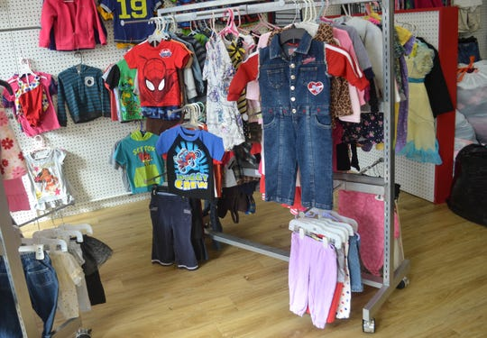 The Clothing Corral may look like an upscale resale shop, but everything in the store is free to people in need.