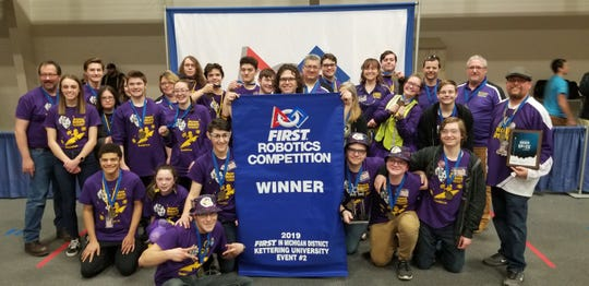 Port Huron's Team 3667, the Mecanum Knights, competed in the Kettering II District Event over the weekend.