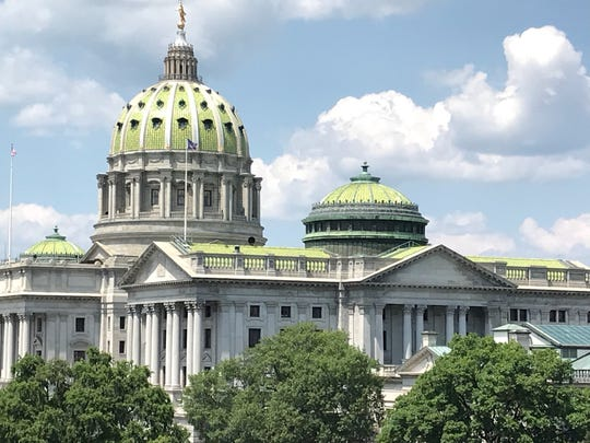 Pennsylvania Capitol building (Photo by Liz Evans Scolforo)