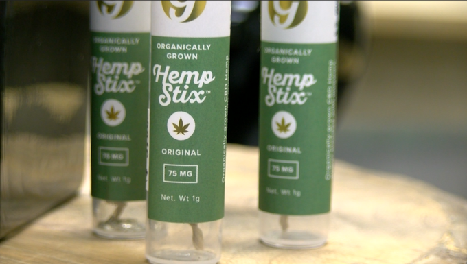 "A ""hemp stix"" product offered at Farmacy Partners located on S Queen Street (by the ACCO Business Park) in York and specializes in hemp-based food and health products."