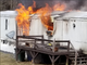 No injuries were reported in a trailer fire in the 2700 block of Genna Circle in Dover Township on Monday afternoon.