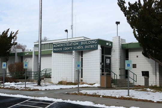 The Washoe County School District Administration Building.